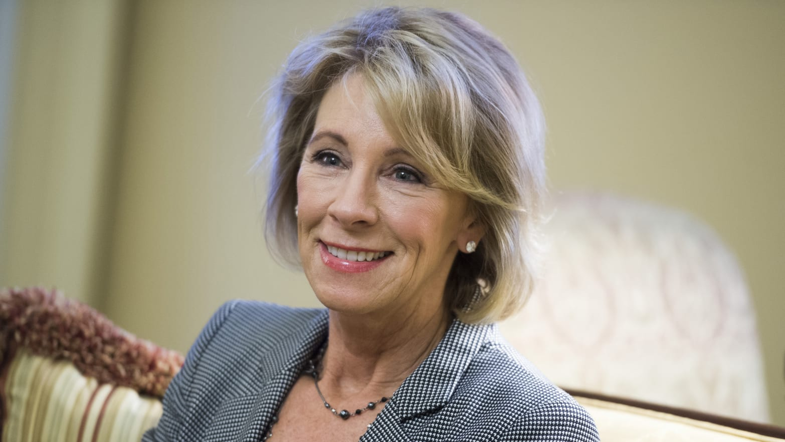 Betsy Devos Trumps Education Pick Has >> Betsy Devos Fight Demonstrates Donald Trump S Serious About Changing
