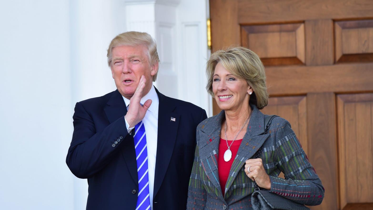 Betsy Devos Trumps Education Pick Has >> Betsy Devos Trump S Education Pick Could Make Life Hell For Lgbt Youth