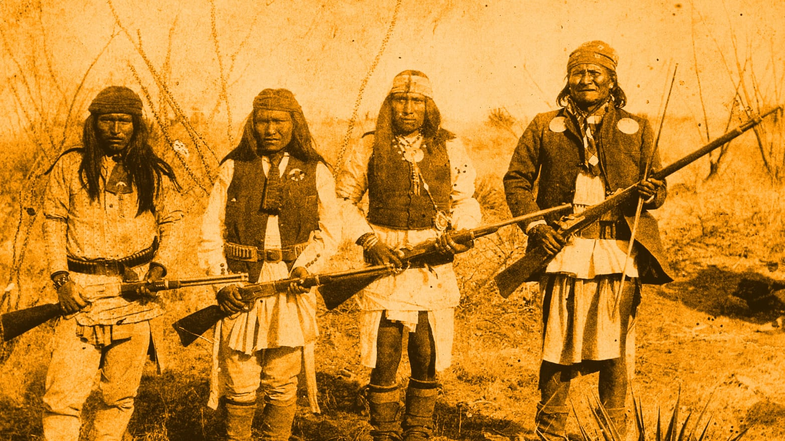 Native Americans Invented Our Gun Culture—and Yes, We Stole