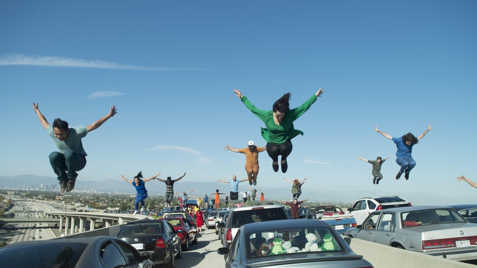 How 'La La Land' Staged a Dance Number on an L A  Freeway