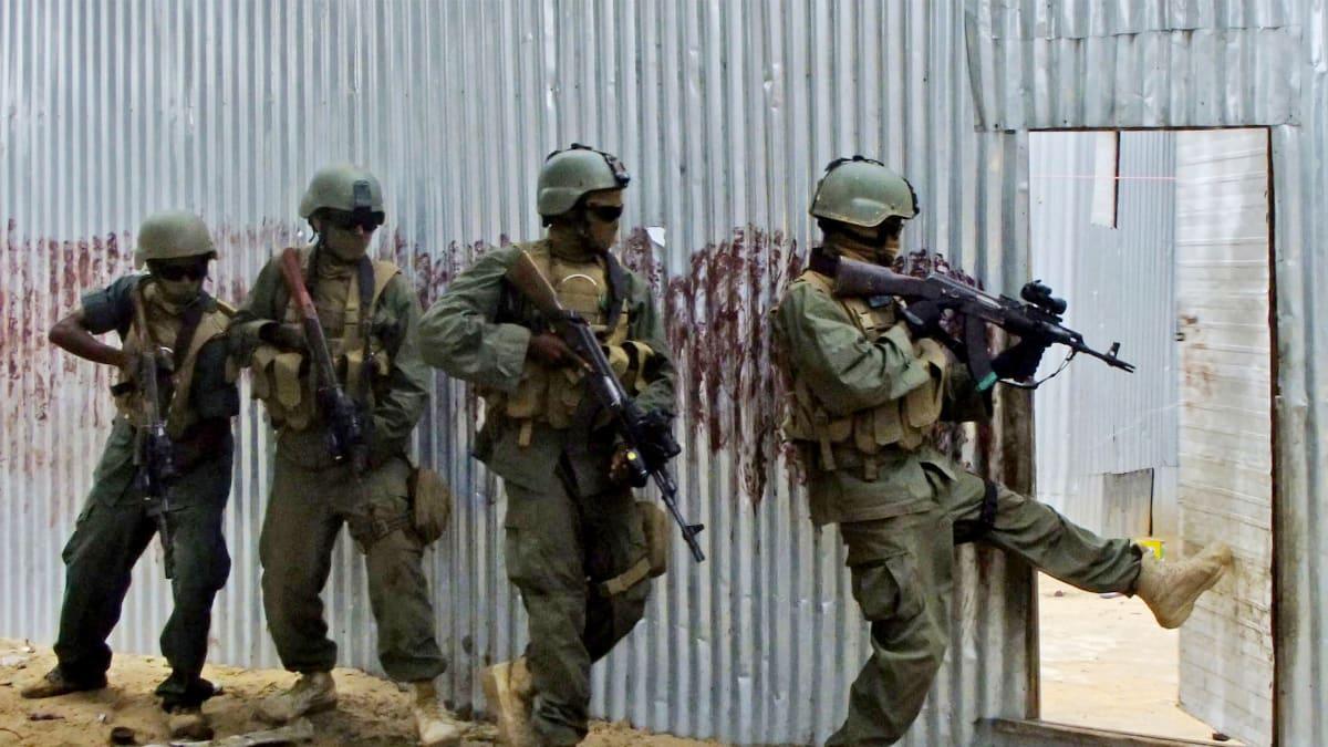 Big Game: U.S. Soldiers' Secret Hunt for Jihadists in a Kenyan Forest