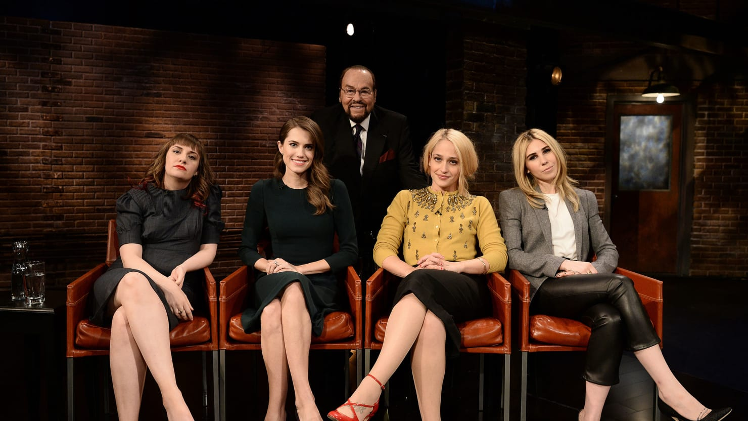 Inside 'Inside the Actors Studio': Backstage With James Lipton and the 'Girls' Cast