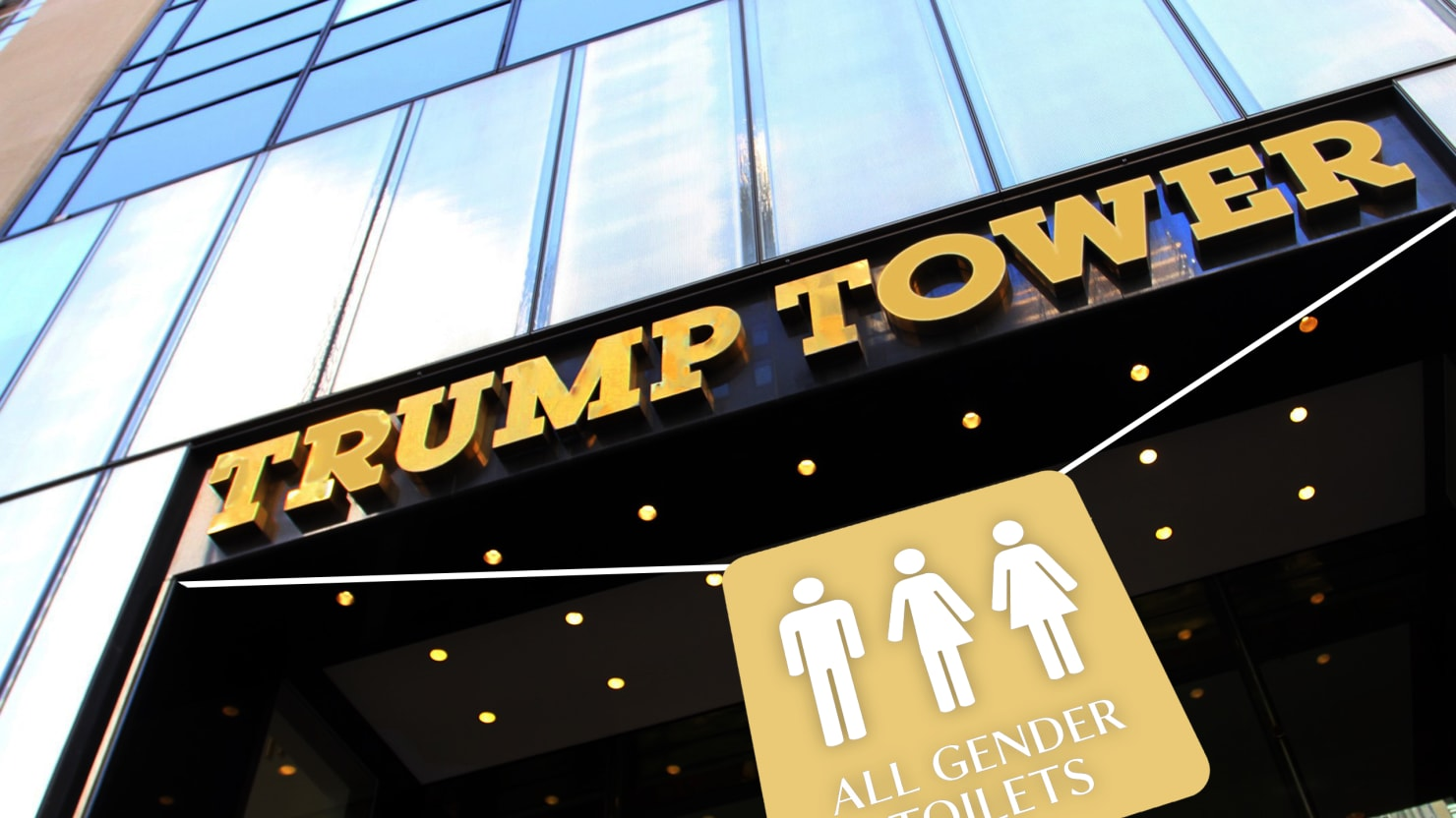 The One Place that Still Supports Trans Bathroom Rights: Trump Tower