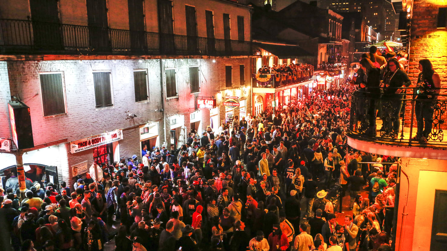 Is it closing time for bourbon street for Bourbon street fish