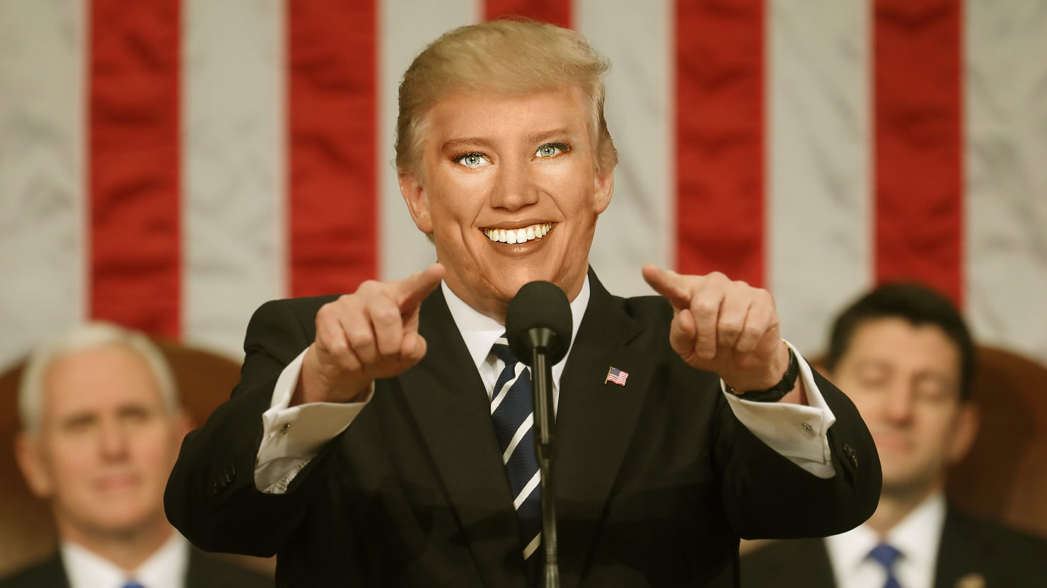 why kate mckinnon is the only choice to play snl u0027s trump after