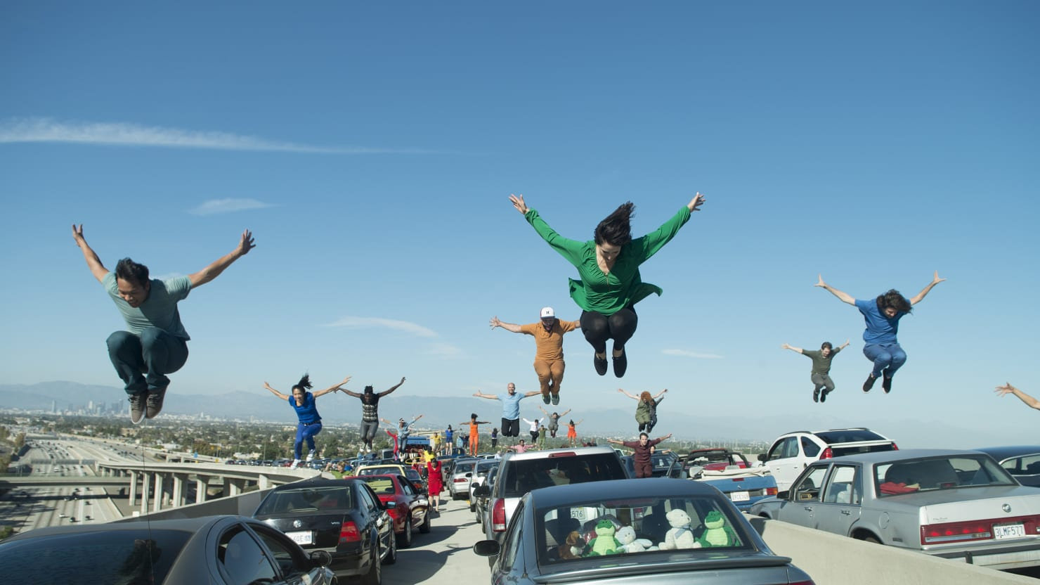 How 'La La Land' Staged a Dance Number on an L.A. Freeway