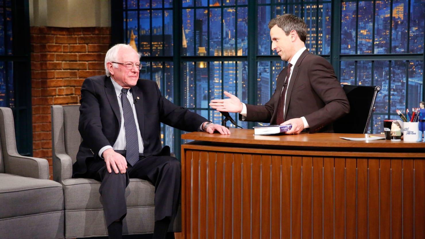 Bernie Sanders Blasts Trump's Cabinet of 'Billionaires and Millionaires'
