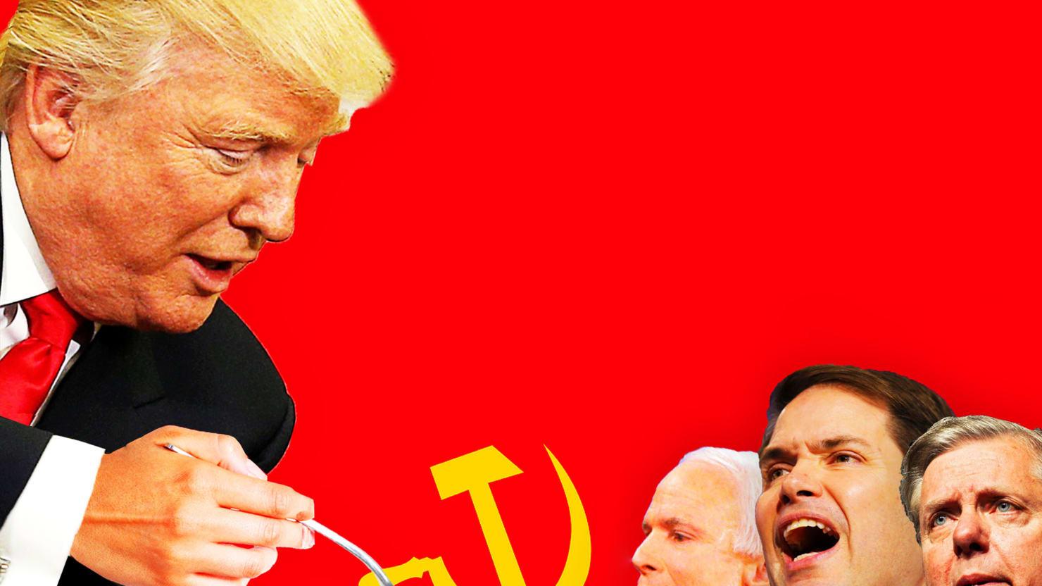With Rex Tillerson Pick, Trump Crams Russia Down NeoCon Throats