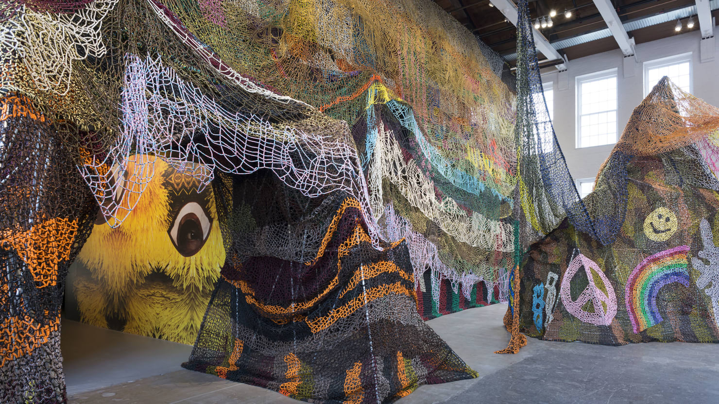 World Tech Auto >> Inside Nick Cave's Whimsical Sculpture Installations