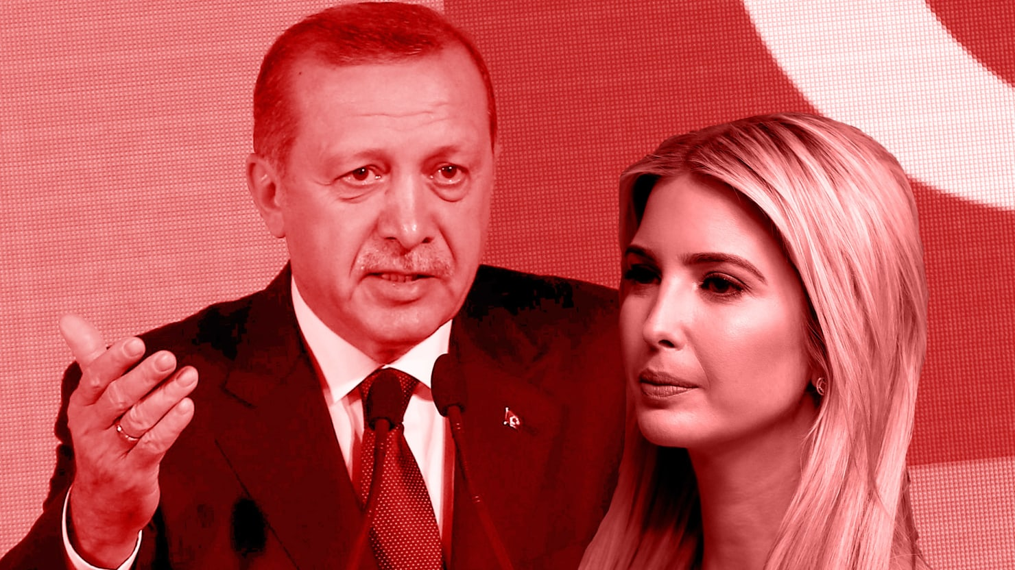 President Trump Congratulated Turkish President Erdogan On His Victory But Hes Not The First Trump To Give Erdogan Thanks