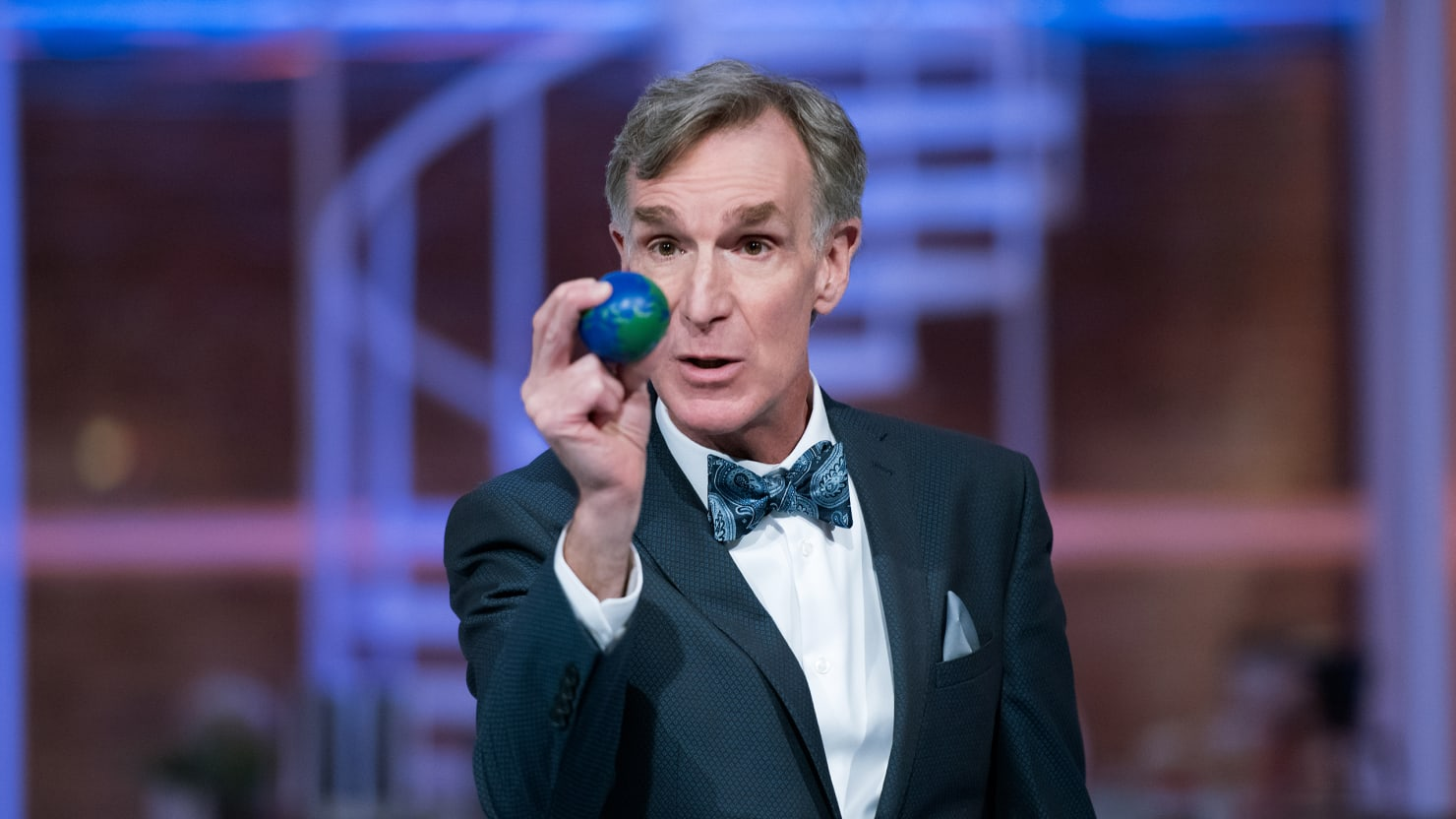 Bill Nye Wants to Save the World—and Actually Thinks He Can