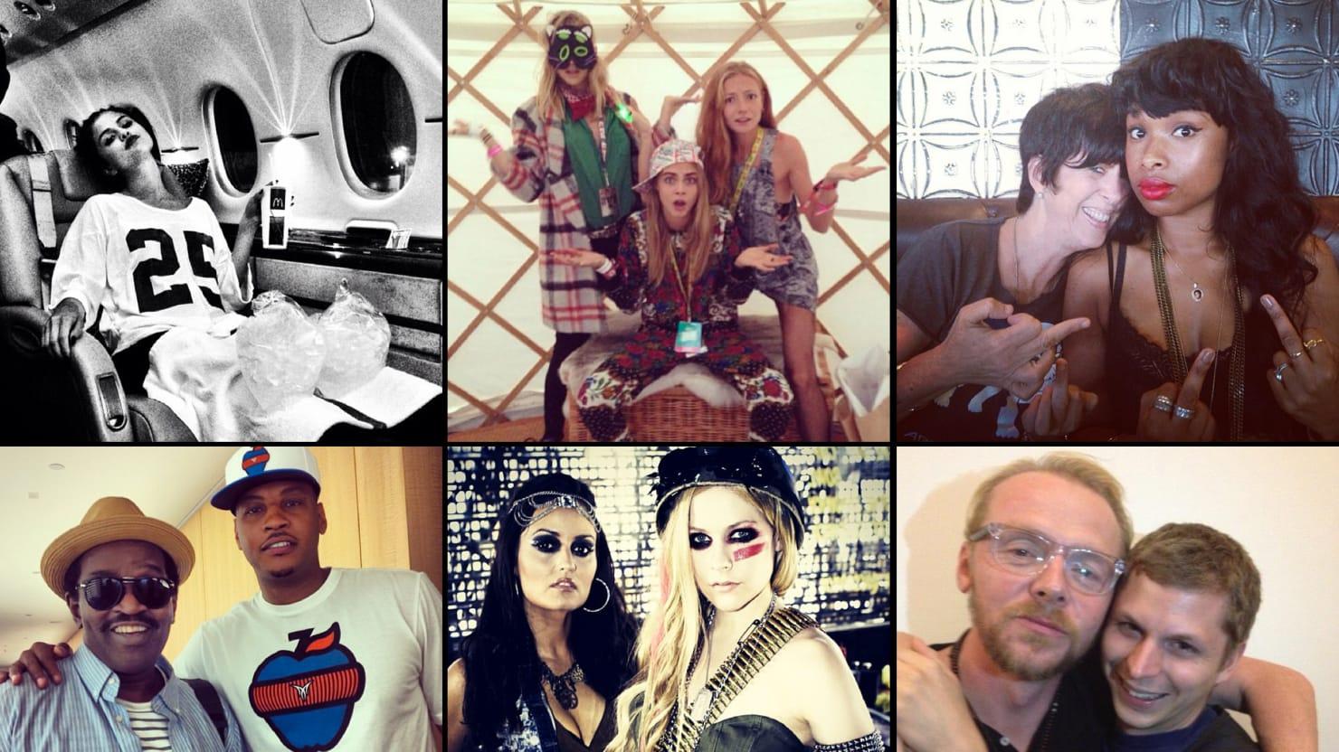 Jennifer Hudson, Selena Gomez & More Celebrity Twitter Pictures (PHOTOS)