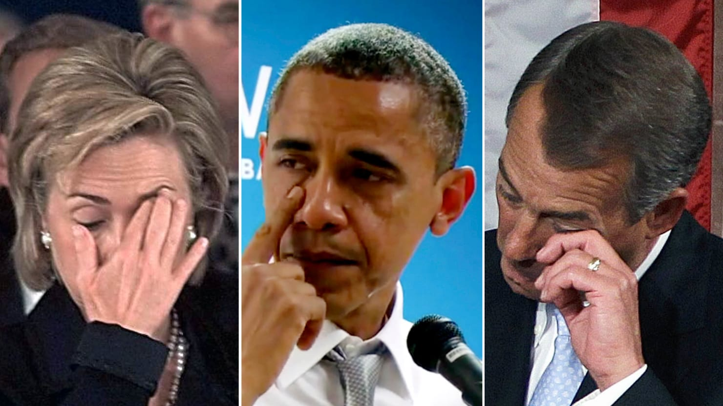 10 politicians who turned on the tears in public from obama to muskie