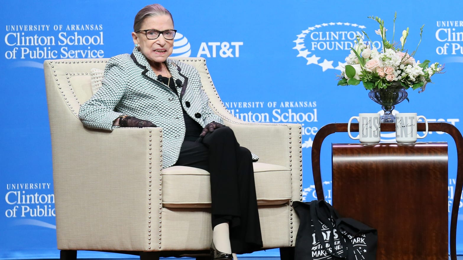 Justice Ruth Bader Ginsburg: My Work Keeps Me Going