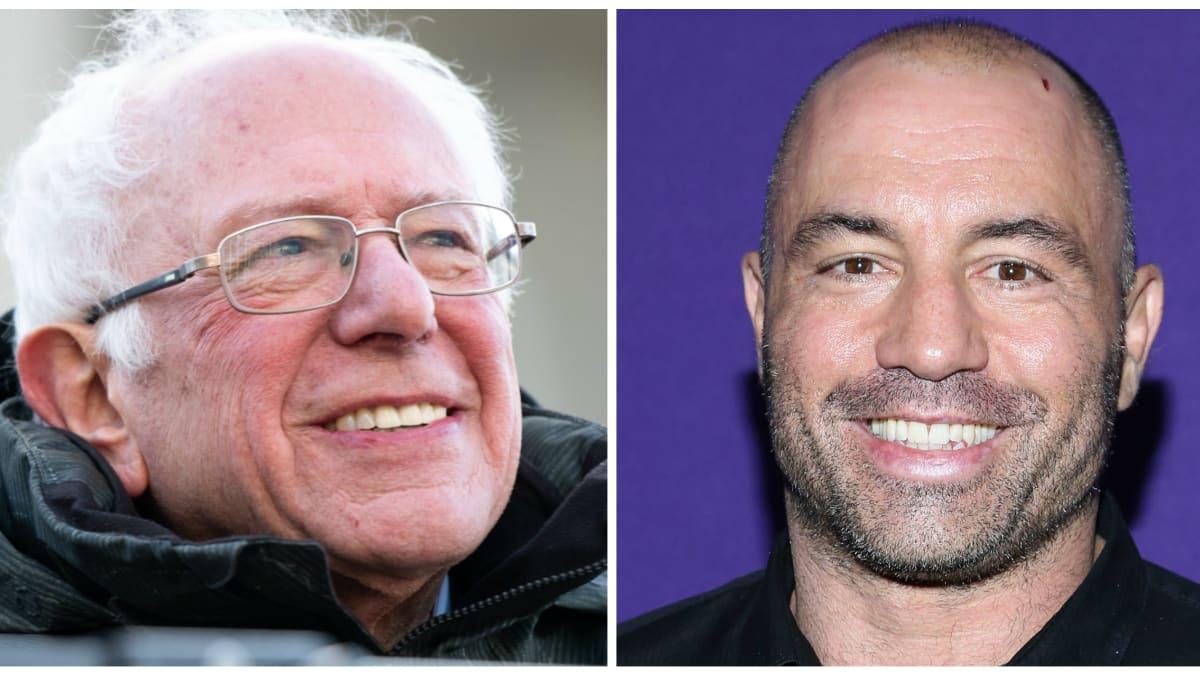 Bernie Sanders' Embrace of Joe Rogan's Endorsement Sparks Backlash—and a Backlash to the Backlash