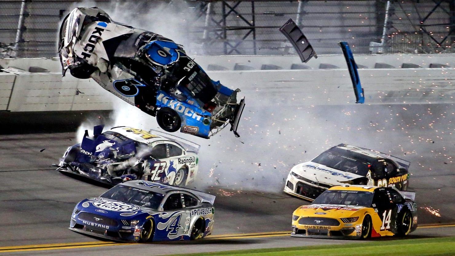 Daytona 500 Driver Ryan Newman 'Seriously Injured' in Horror Crash