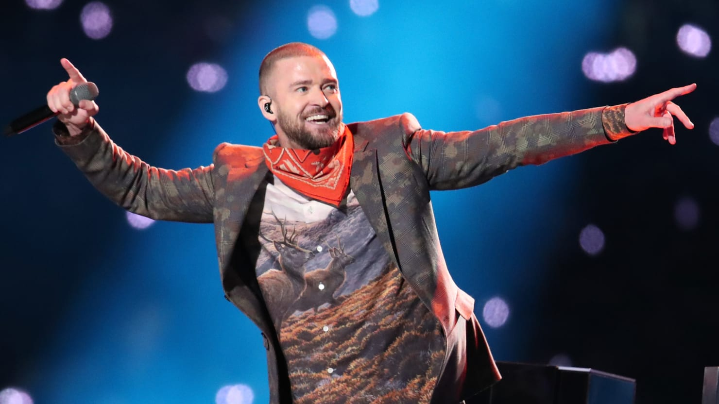 Image result for justin timberlake superbowl halftime