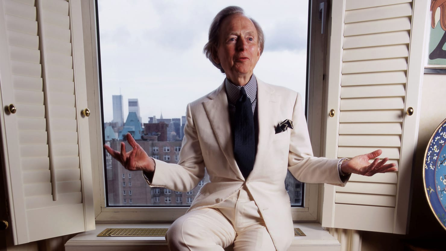 Tom Wolfe S Iconic White Suit