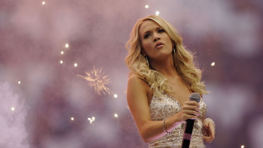 Carrie Underwood, NFL, and NBC Sued Over 'Sunday Night Football' Theme Song