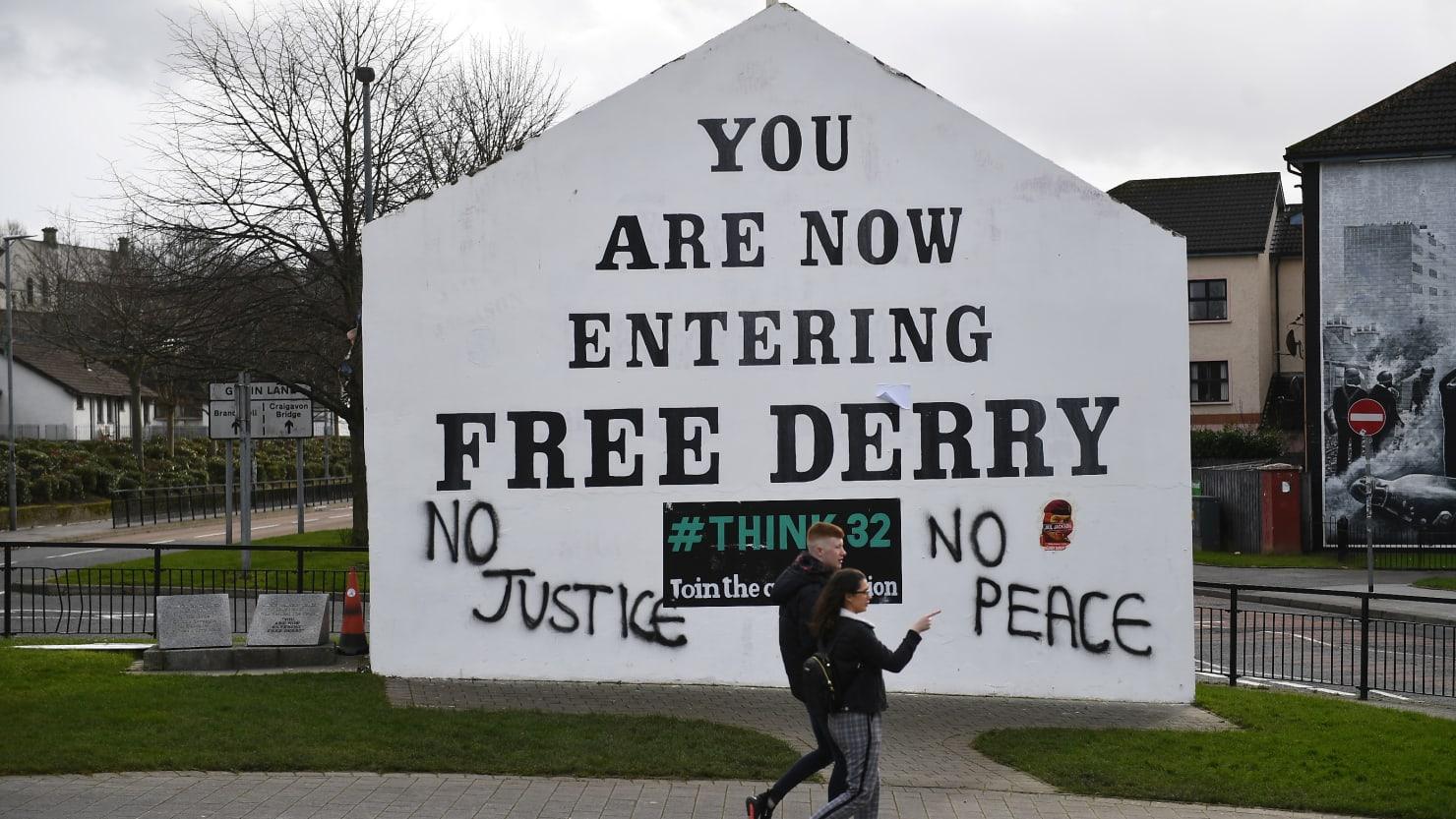 Woman Killed in 'Terrorist Incident' in Northern Ireland