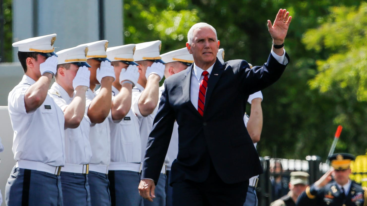 Mike Pence Tells West Point Graduates They Should Expect to See Combat