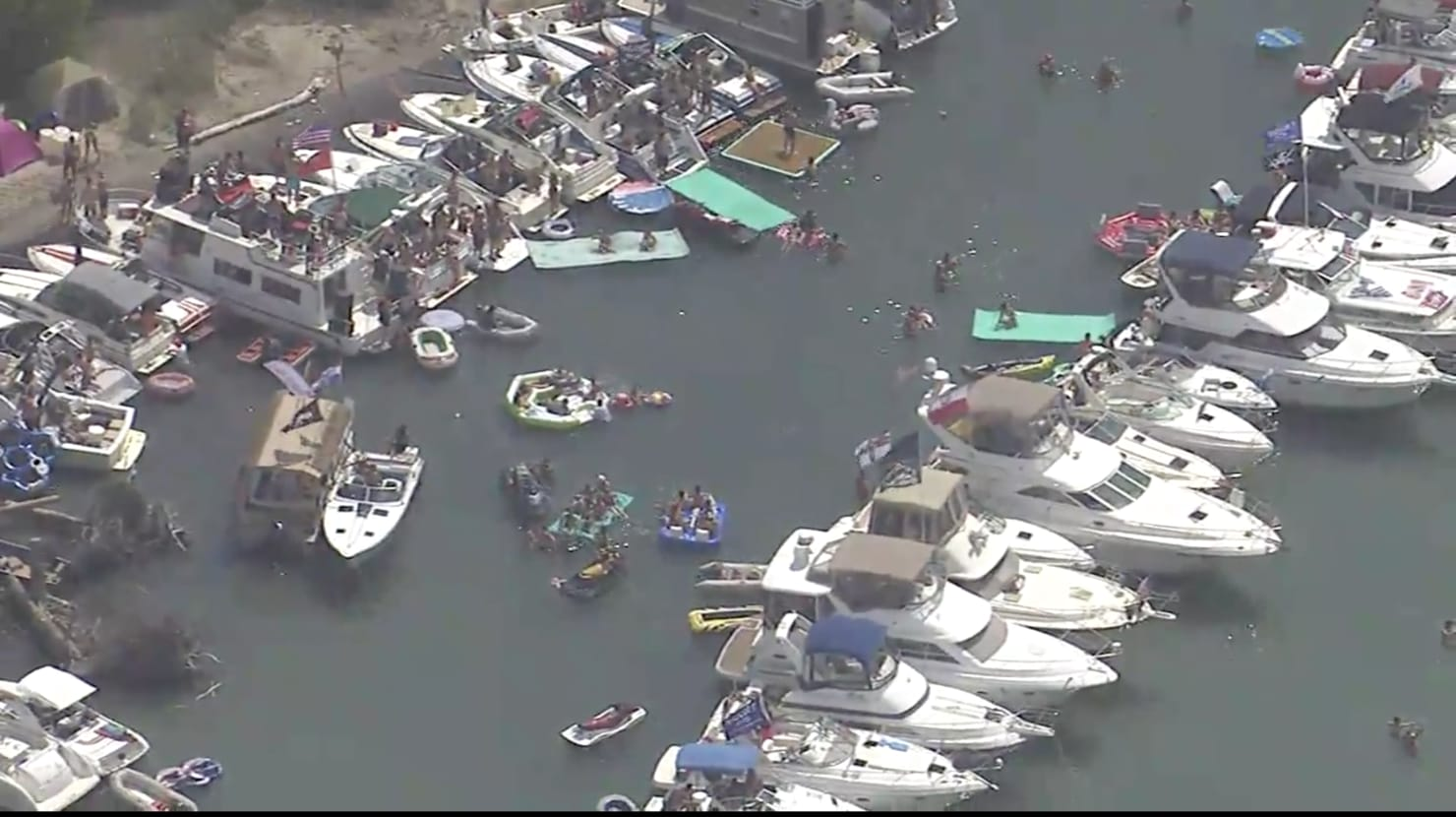 Thousands Gather for Michigan Boat Party That Officials Said They Couldn't Stop