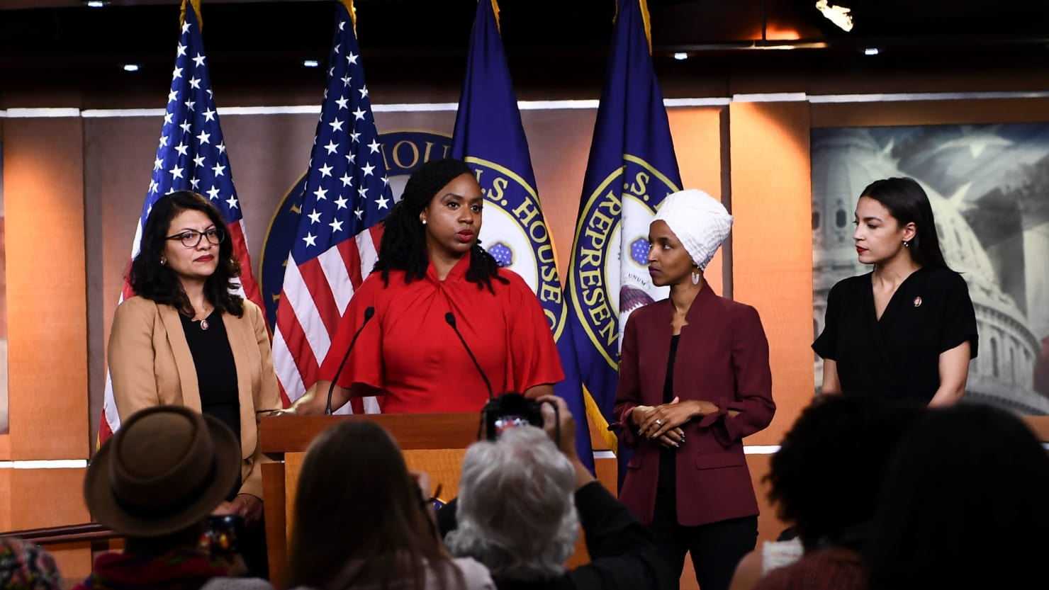 'The Squad' Hits Back at Trump's Racist Tirade: 'We Will Not be Silenced'