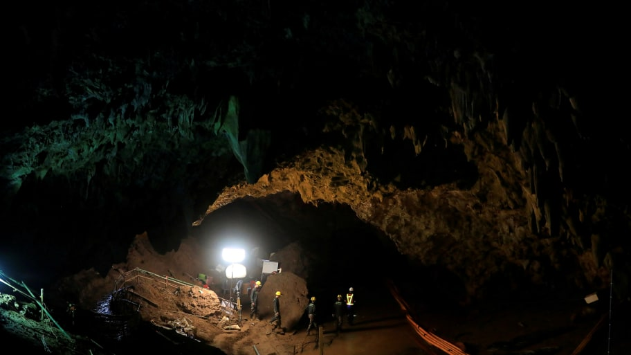 Divers and Volunteers in Thai Cave Rescue to Reprise Roles in Film Dramatization