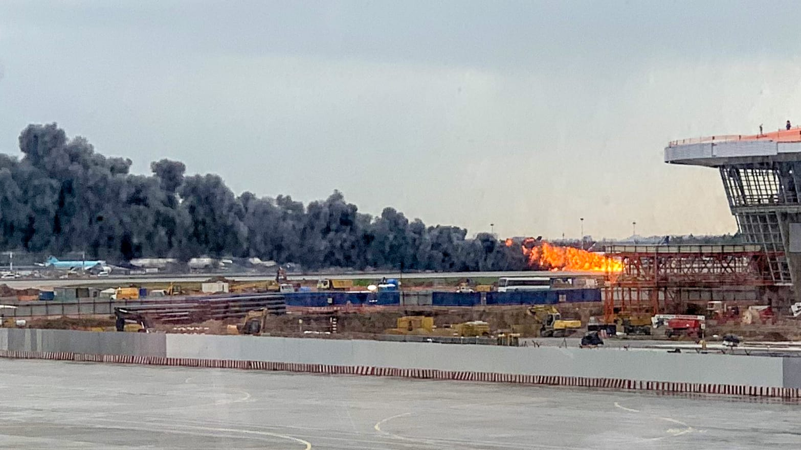 Plane Crash in Moscow: Russian Aeroflot Jet Bursts Into Flames Mid-Flight, At Least One Dead