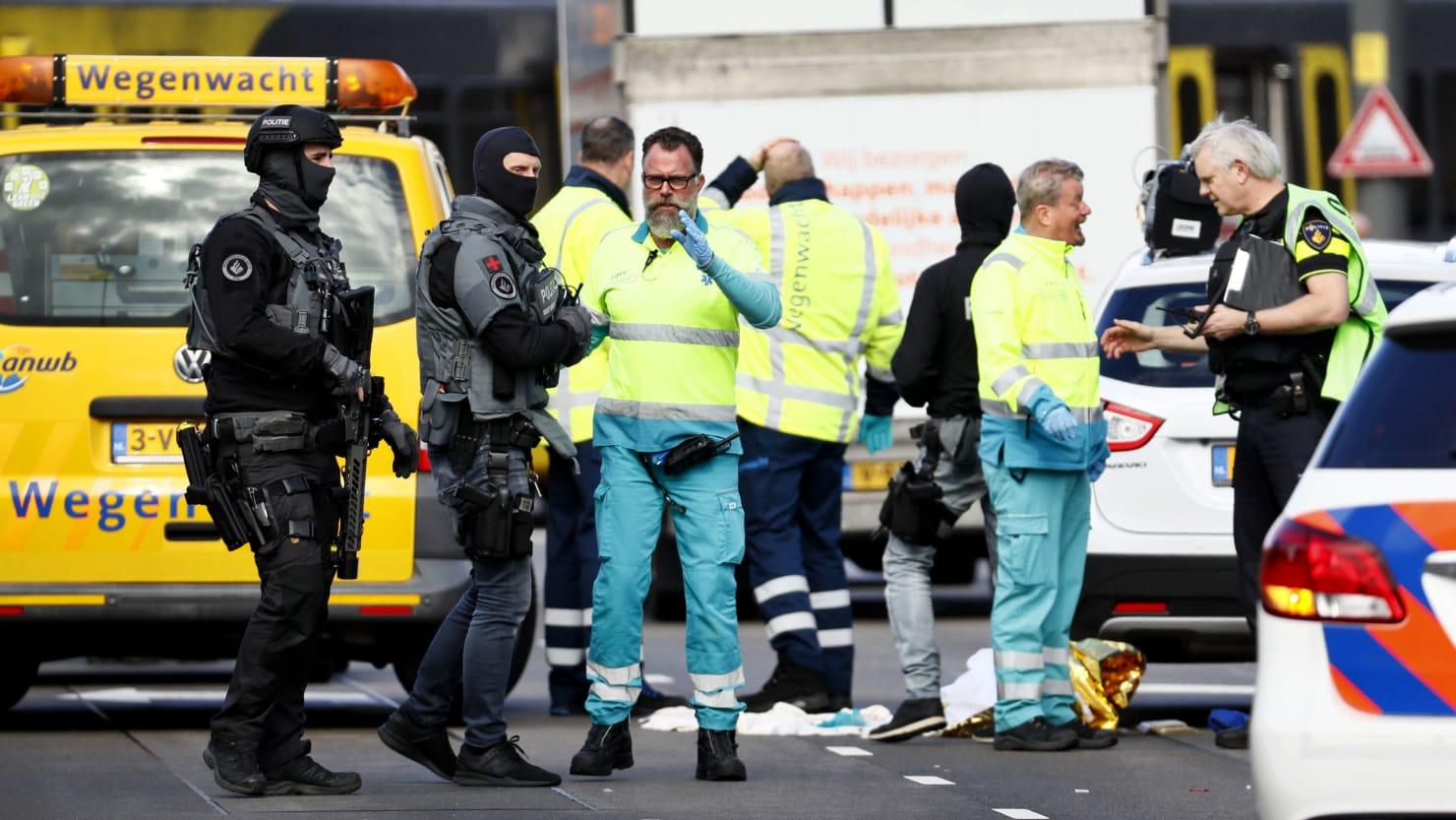 Netherlands Tram Shooting: Manhunt After Gunman Opens Fire on Transit Car