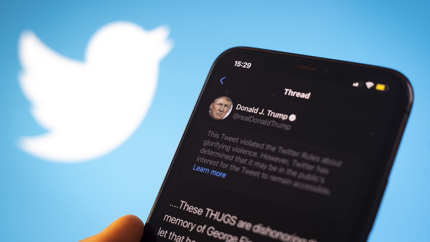 Raging Pandemic, Streets Aflame, and Donald Trump's Mad at Twitter