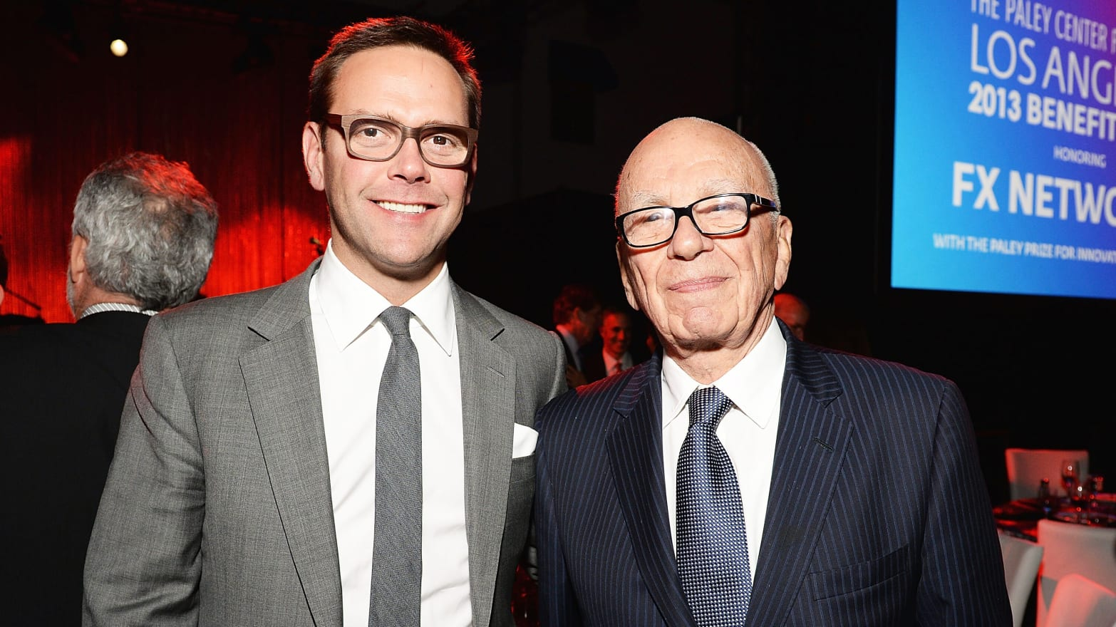 James Murdoch Resigns From News Corp Board Over Editorial ...