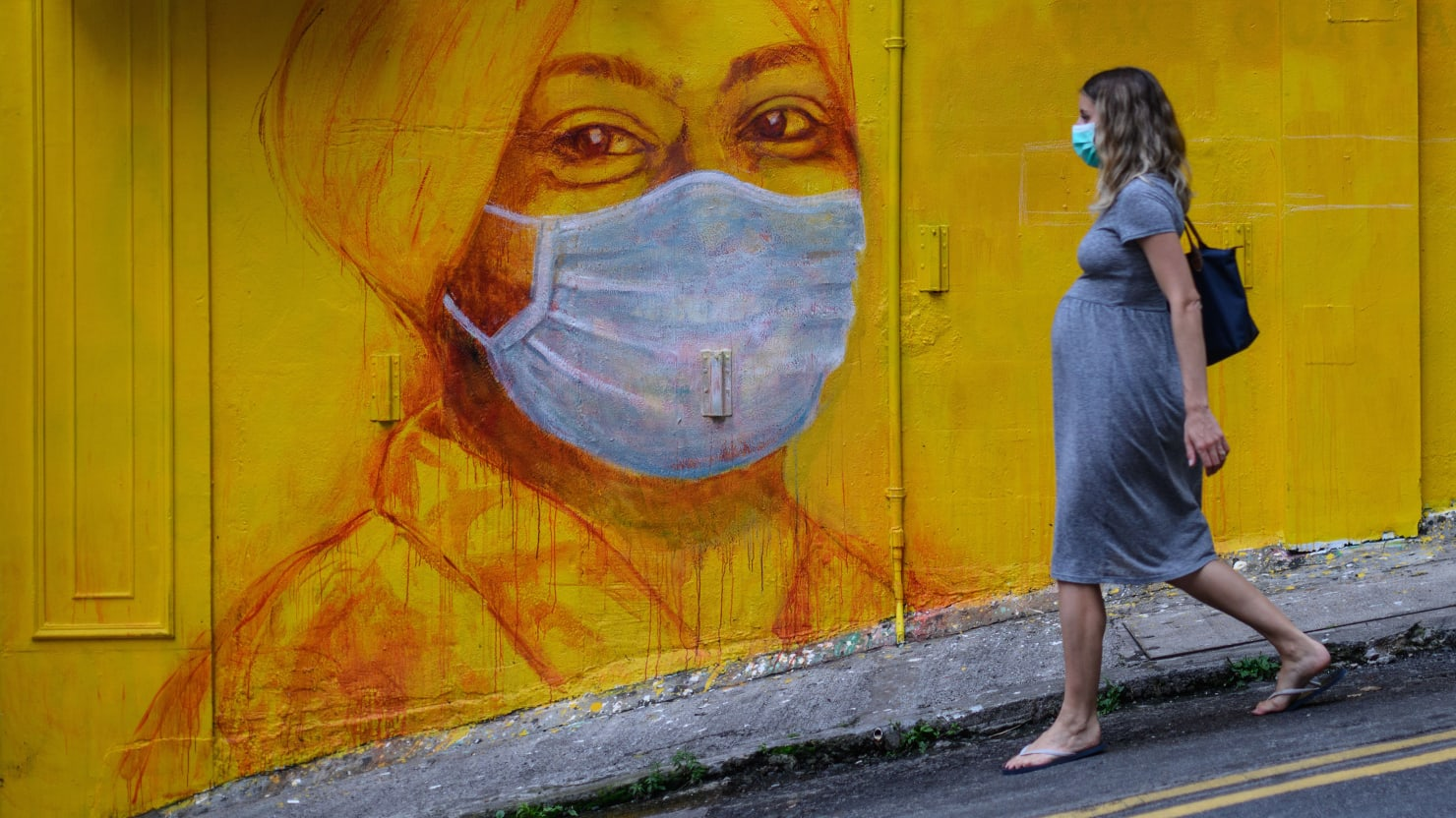 No, Face Coverings Don't Cause Carbon Dioxide Poisoning. Five Mask Myths Debunked.