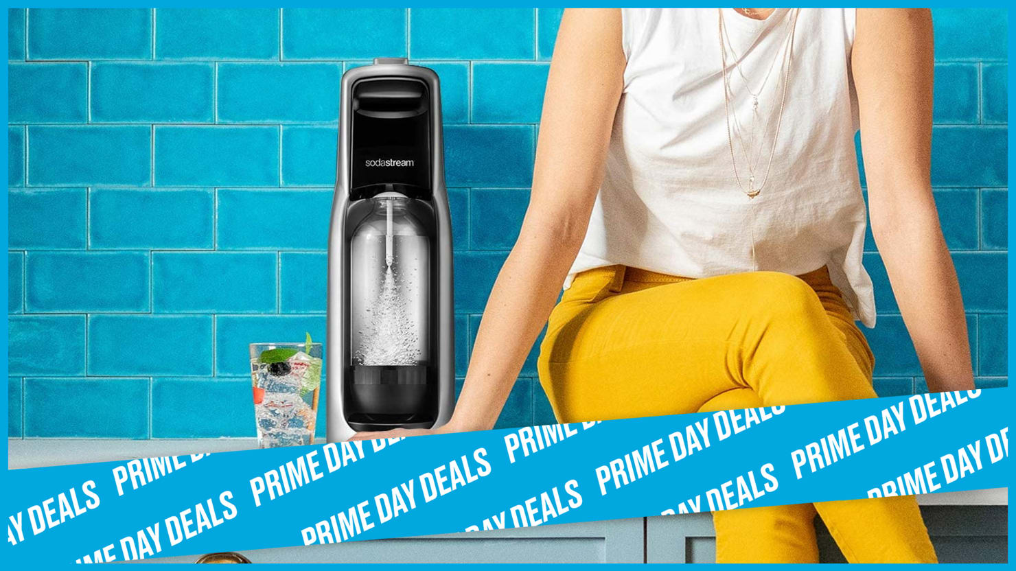 Make Your Own Seltzer with a Prime Day-Discounted SodaSteam