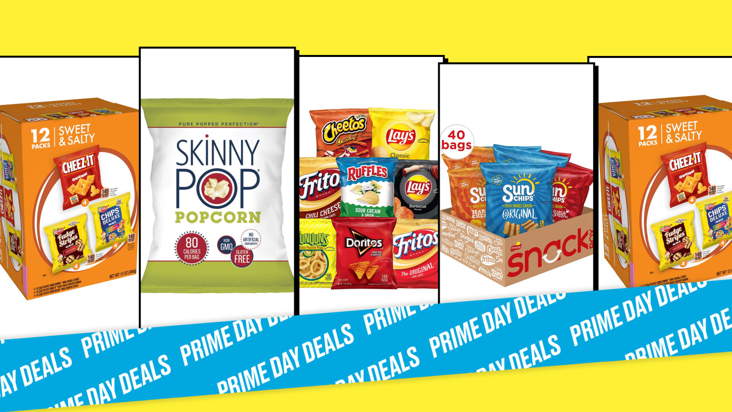 Snack All You Want with 30% Off Frito Lay, Sun Chips, and More