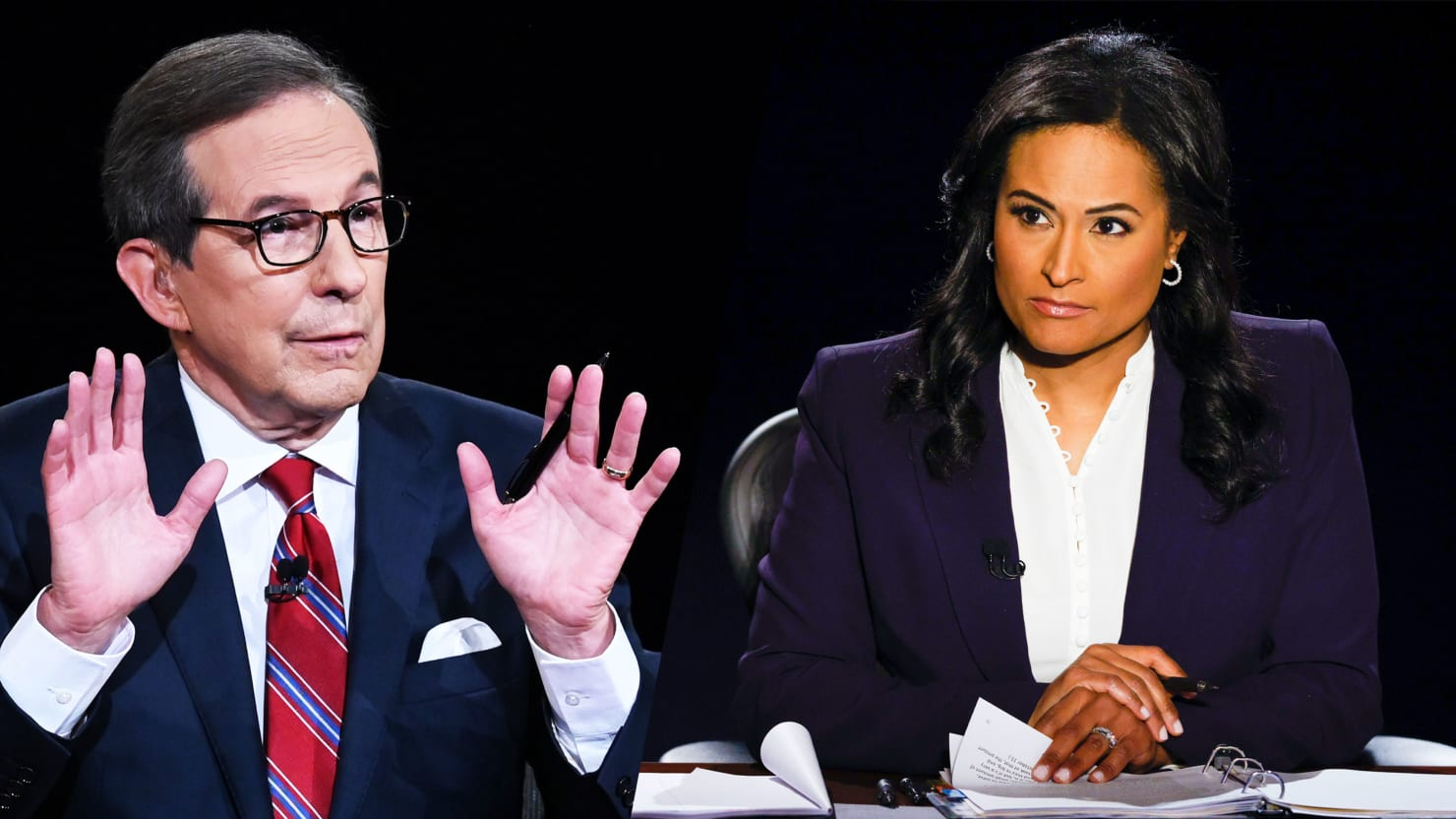 Chris Wallace Admits He's 'Jealous' of How Well Kristen Welker Did