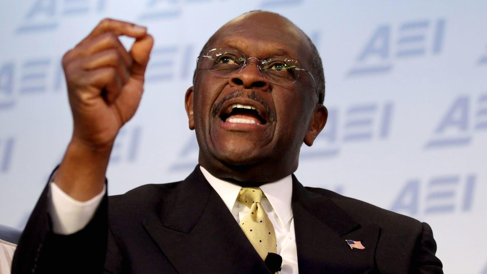 "Herman Cain: ""I'm Going to Be President"" – Mother Jones  |Herman Cain"