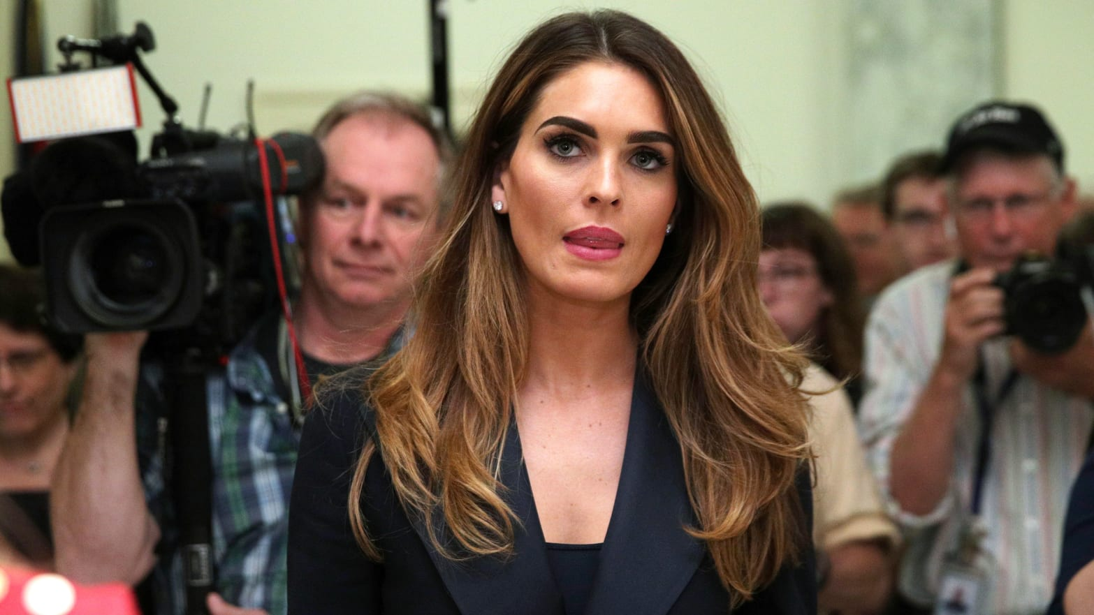 Hope Hicks, Who Saw Everything and Said Nothing, Just Exposed Trump