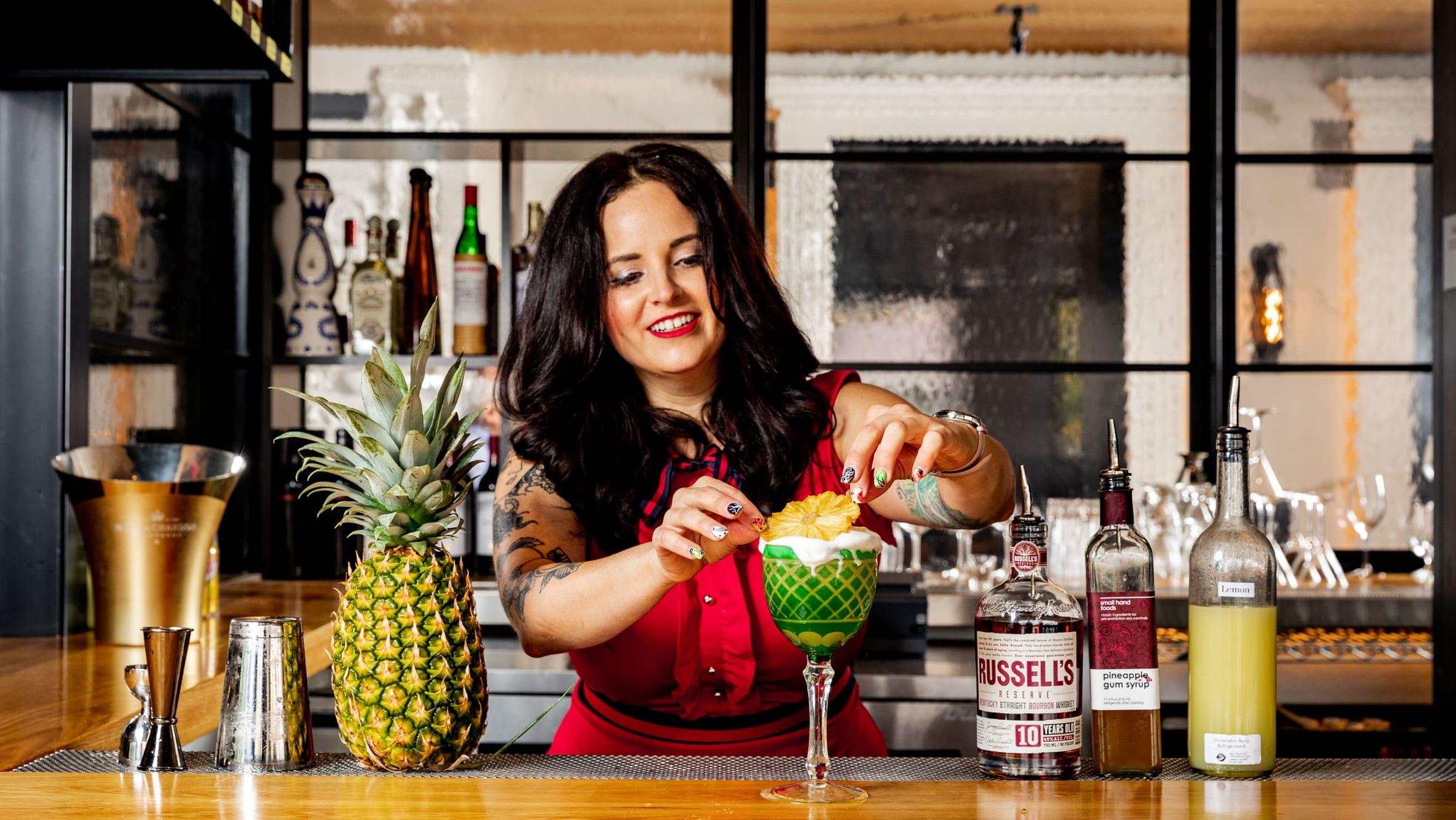 10 Rounds With Megan Abraham, the Lead Bartender at the Commons Club Inside Virgin's San Francisco Hotel