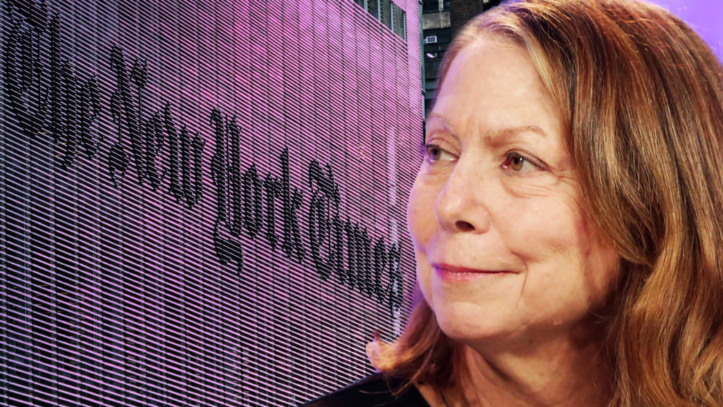 New York Times Staffers Blast Jill Abramson for Plagiarism: 'One More Piece of Ammo' for 'Fake News' 190207-tani-jill-tease_yyokb3