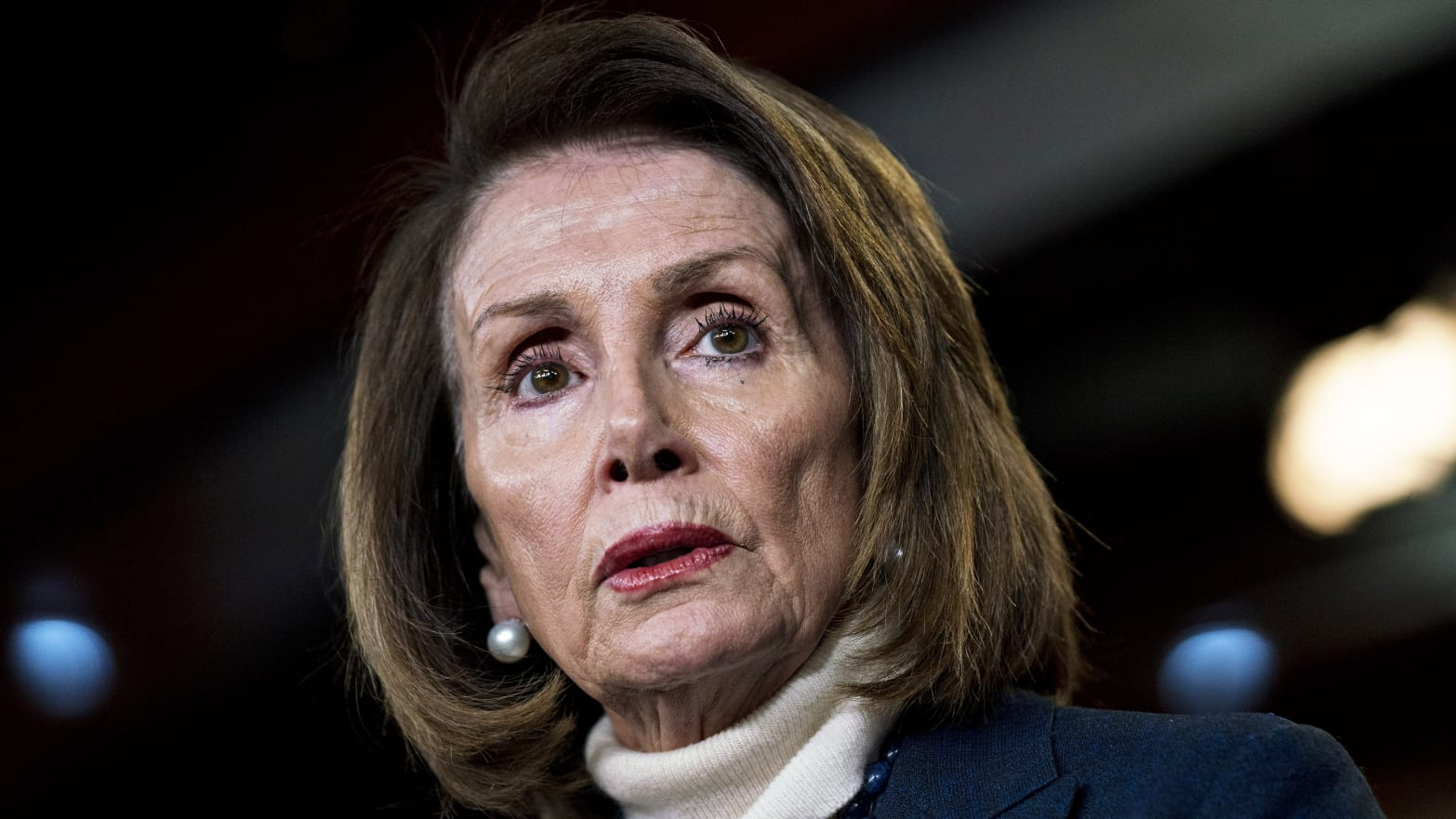 Pelosi Says Trump Leaked Commercial Travel Plans, Forcing Her to Cancel Afghanistan Trip