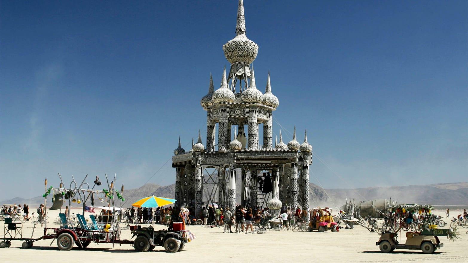 Burning Man Bans $100K Campers After Exploding Toilets