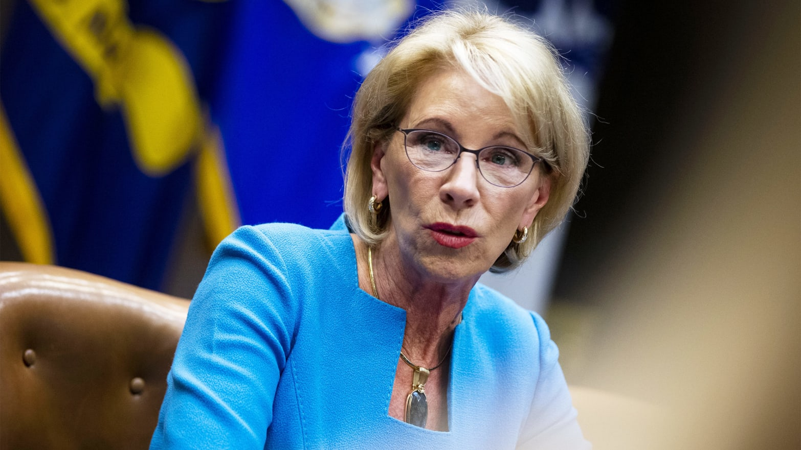 Betsy Devos Wont Be Doing Too Much As >> Trump Education Secretary Betsy Devos Is Introducing New Campus