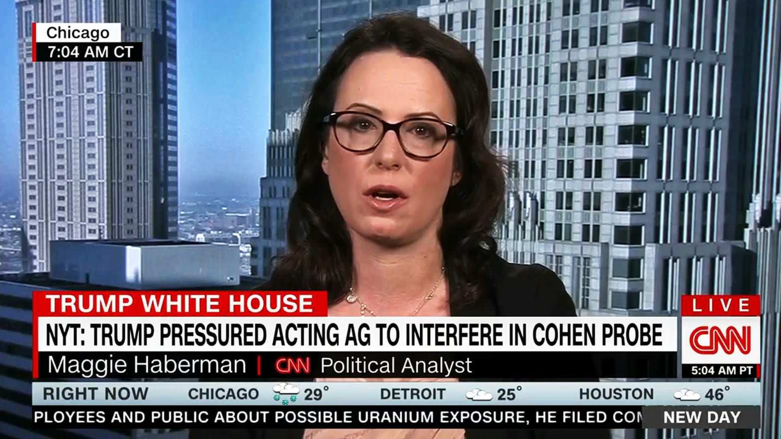 Maggie Haberman on Trump's New York Times Attack: 'That's a Lie'