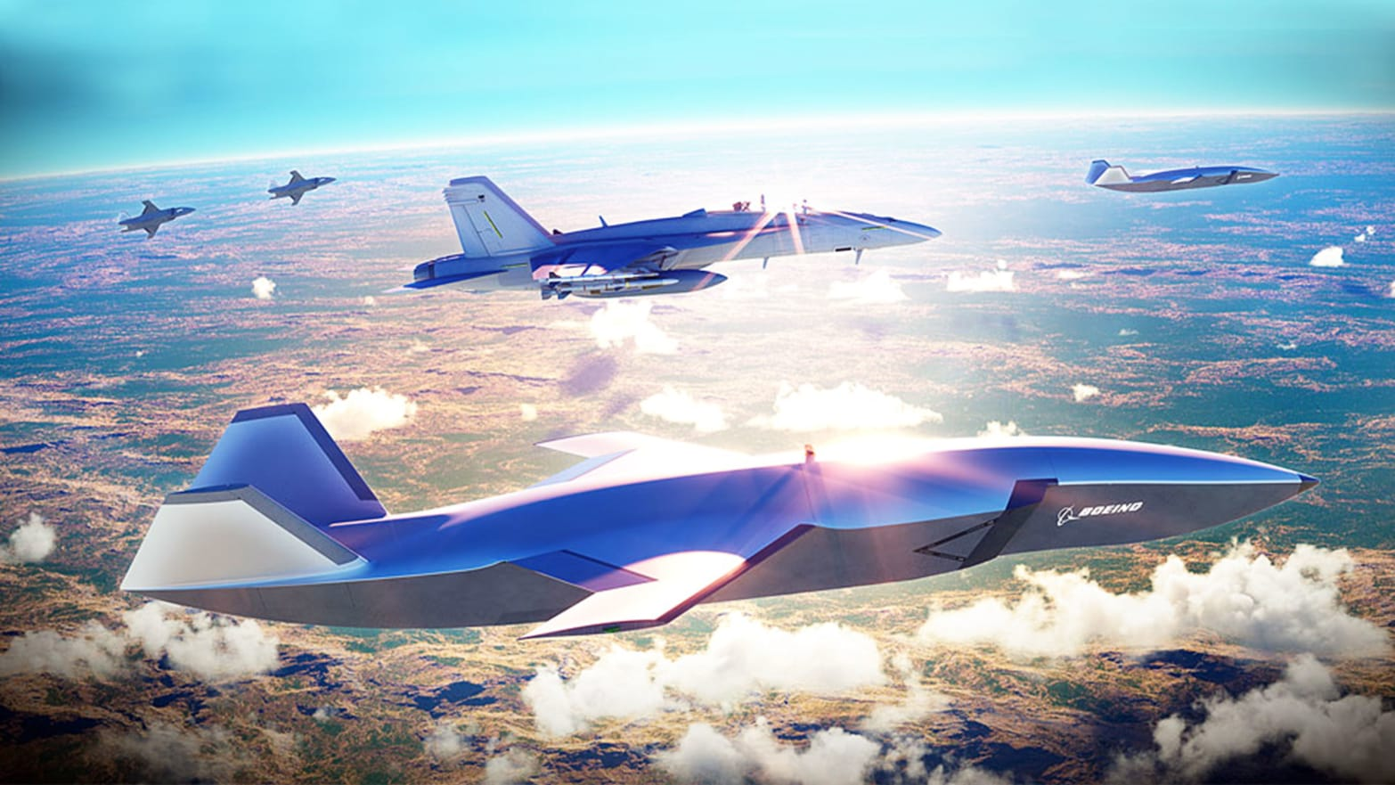 Boeing Just Revealed the 'Loyal Wingman' Fighter Drone—For Australia