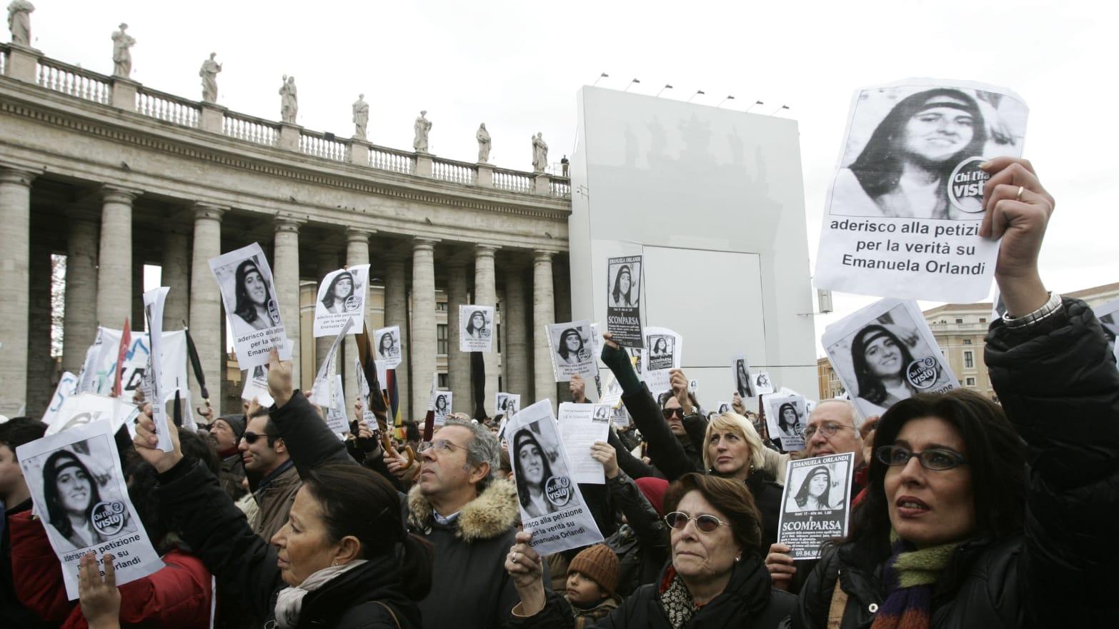 Is Missing Teen Emanuela Orlandi a Vatican Sex Slave? 190306-barbie-vatican-tease_lk81co