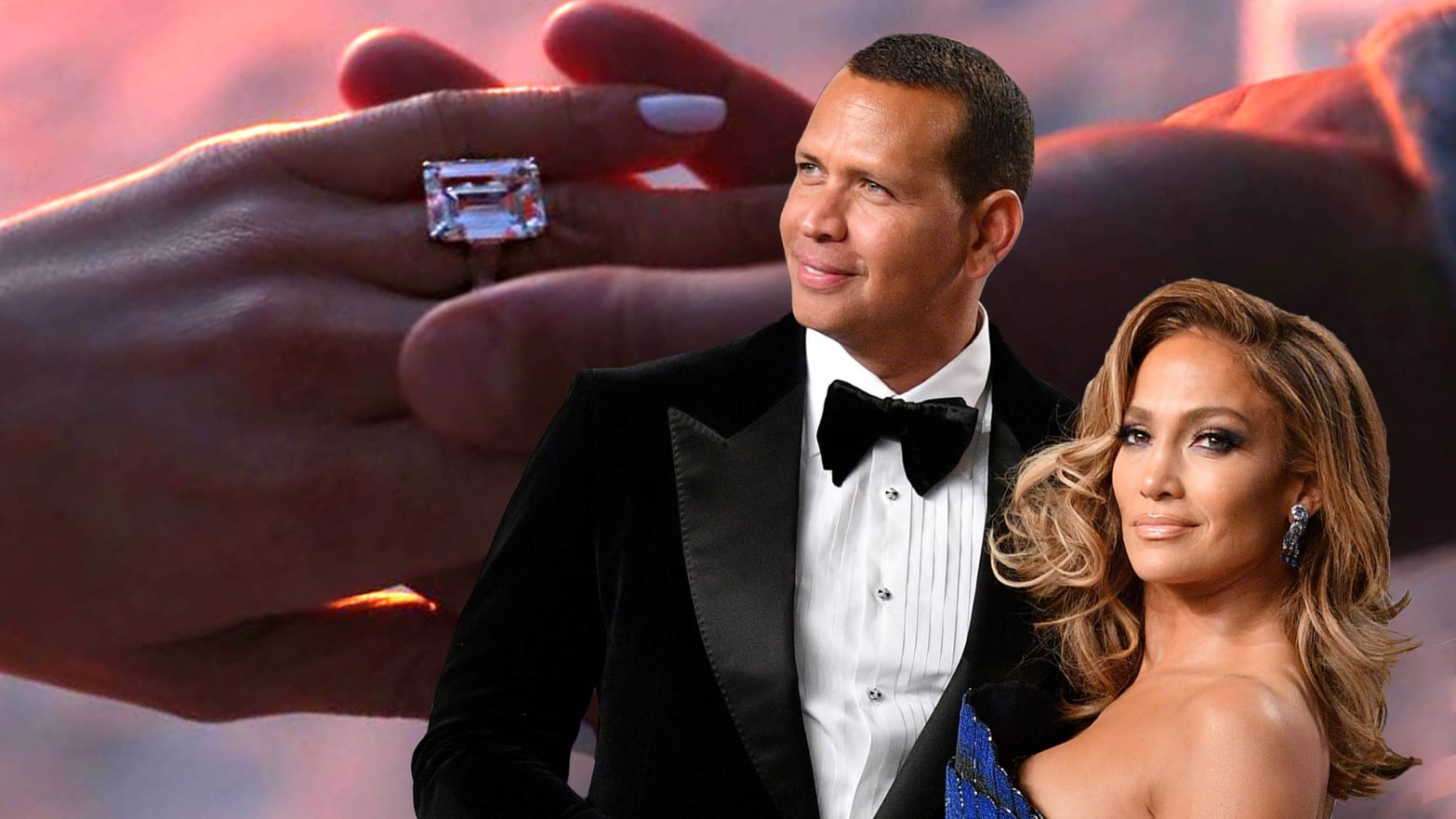 J Lo A Rod And The Return Of Gigantic Engagement Rings
