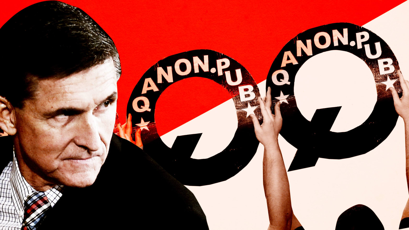 Michael Flynn's Family Is at War With Each Other Over QAnon