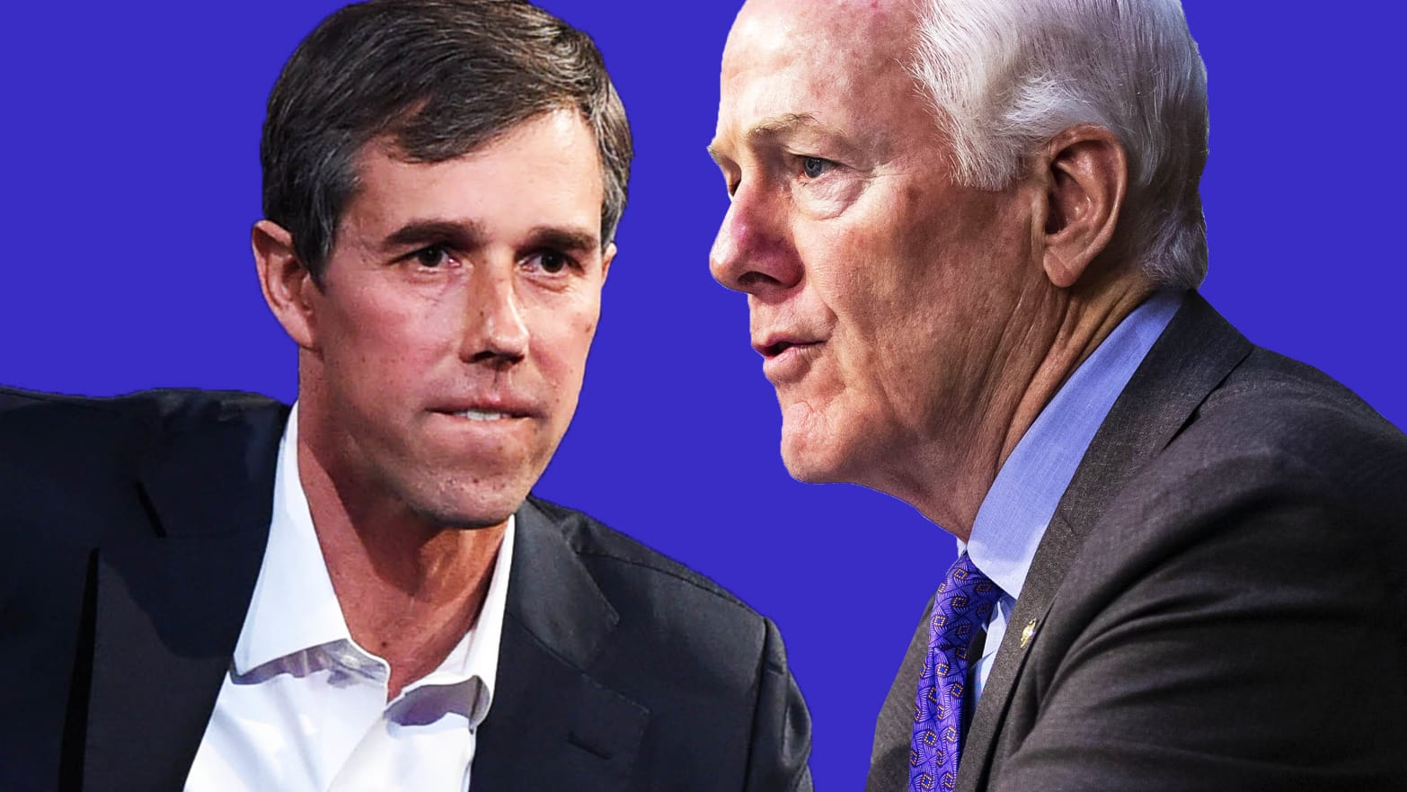 The Time Beto O'Rourke Convinced John Cornyn, a Top Republican, Not to Build a Border Wall
