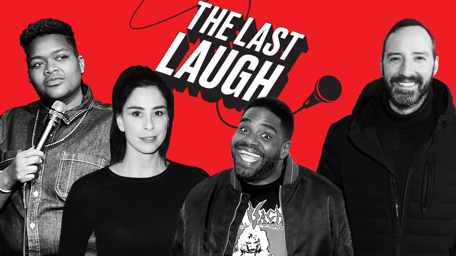 'The Last Laugh' Podcast: Our Brand-New Comedy Interview Show